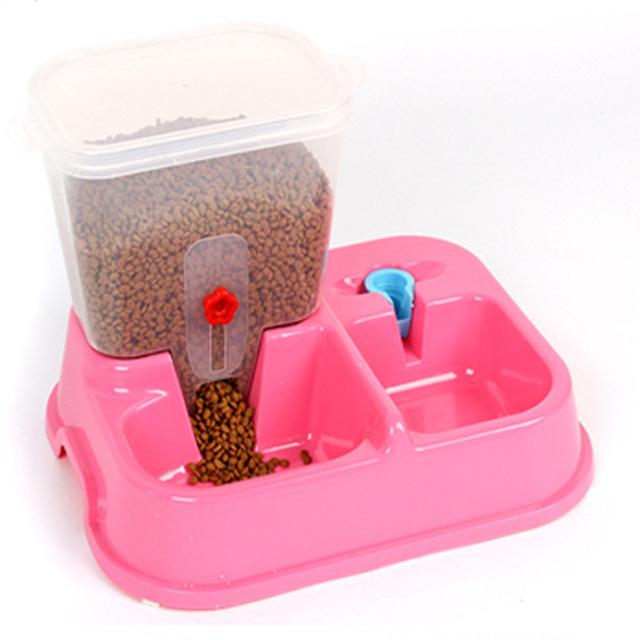 Large Adjustable Automatic Pet Feeder