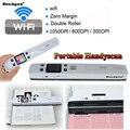 Envío Gratis! iScan02 Digital portátil Wifi inalámbrico 1050 DPI LCD escáner documento foto JPG PDF recibos A4 Mini práctico escáner