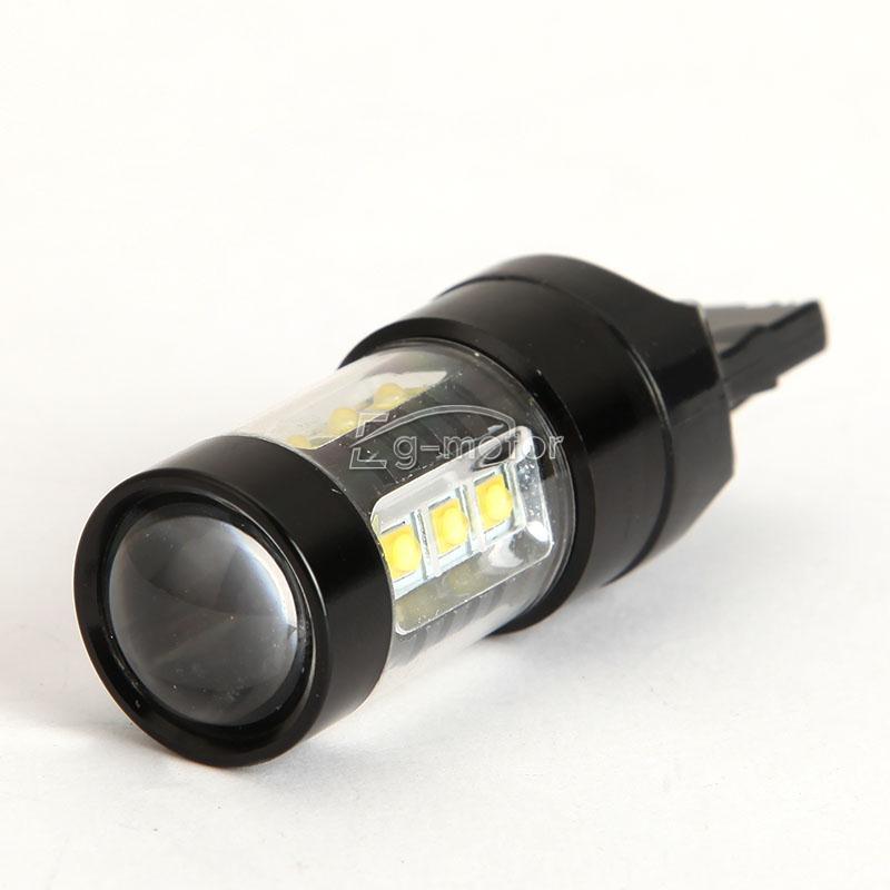 12 V T20 80W LED spuldze Liela jauda pagrieziena signāla bremžu - Auto lukturi