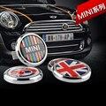 Clásico Corona de Metal Parrilla Delantera Insignia Para Todos Los MINI Cooper R50 R55 R56 R57 R58 R60 R61 F55 F56 clubman countryman Frente parachoques