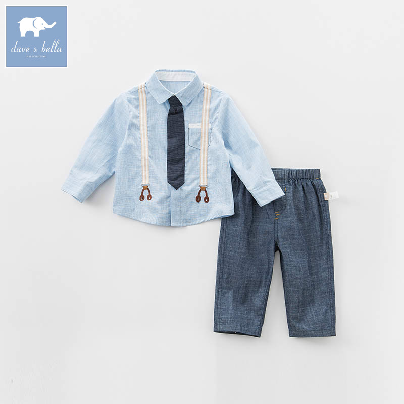 DB7244 dave bella spring baby boys clothing sets toddler children suit high quality toddler outfits Clothing Suits db7386 dave bella spring baby boys clothing sets panda print toddler children suit high quality infant outfits