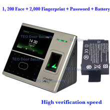 DHL Ship 1, 200 face and 2,000 fingerprint templates uFace800 BioEntry iFace Face Recognition Machine High Verification Speed