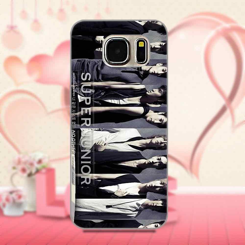 Bixedx для Apple iPhone 4, 4S, 5, 5C, SE, 6, 6 S, 7, 8 Plus, X, Galaxy Grand Core, II Prime, Alpha, ТПУ чехол, аксессуары, супер Junior Kpop