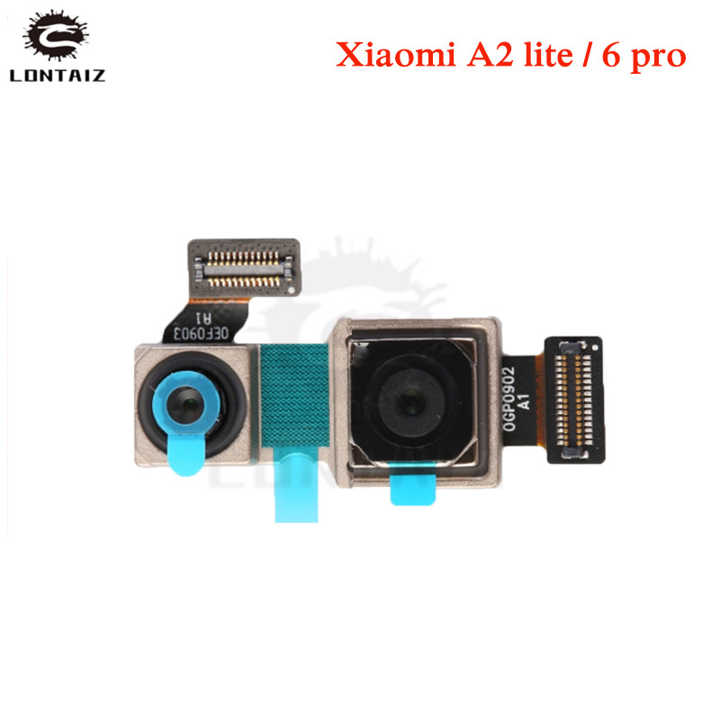 For Xiaomi Redmi 6 Pro / For Xiaomi Mi A2 Lite Back Main Rear Big Camera Small Front Camera Flex Cable Ribbon