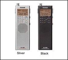 Tecsun PL360 PLL Mondial Bande DSP Radio station récepteur avec ETM AM FM SW LW PL-360 Noir Argent Disponible intégré haut-parleur