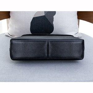 Image 5 - Skórzane torebki Crossbody dla kobiet torebki damskie na ramię nowe modne torebki damskie torebka ze skóry bydlęcej duże torba z rączkami