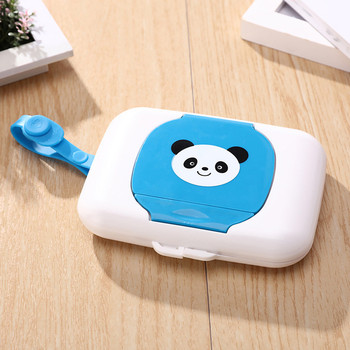 New Cute Baby Travel Wipe Case Child Wet Wipes Box Changing Dispenser Storage Holder Napkin Box Baby Kids Wipes Storage Case