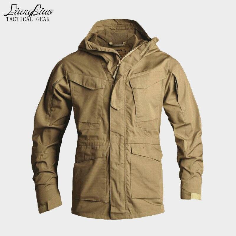 Hommes tactique vêtements US armée coupe-vent militaire champ veste manteaux à capuche Casaco Masculino coupe-vent hommes automne hiver