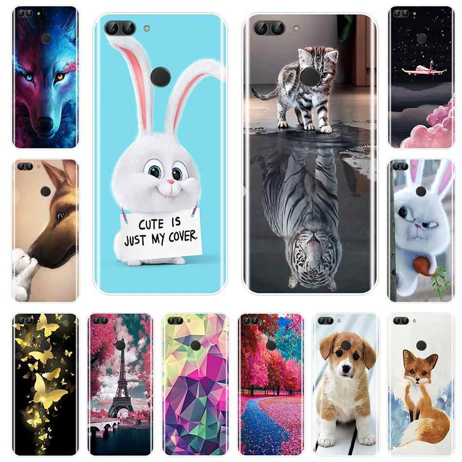 Silicone Case For Huawei P9 P10 P Smart Plus P20 Lite Pro Soft TPU Back Cover For Huawei P8 P9 P10 P20 Lite 2017 Phone Case