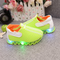 2016 small children's shoes boy baby shoes LACES light shine breathable leisure shoes sandals girl