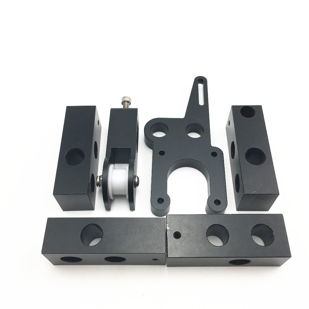 Funssor Reprap Mendel Prusa i3 rework Y bed upgrade CNC aluminum Y-motor mount Sturdier+Y IDLER+ Y corner kit for 8mm rod 20 pcs lot 2sa817 y a817 y 2sa817 to 92