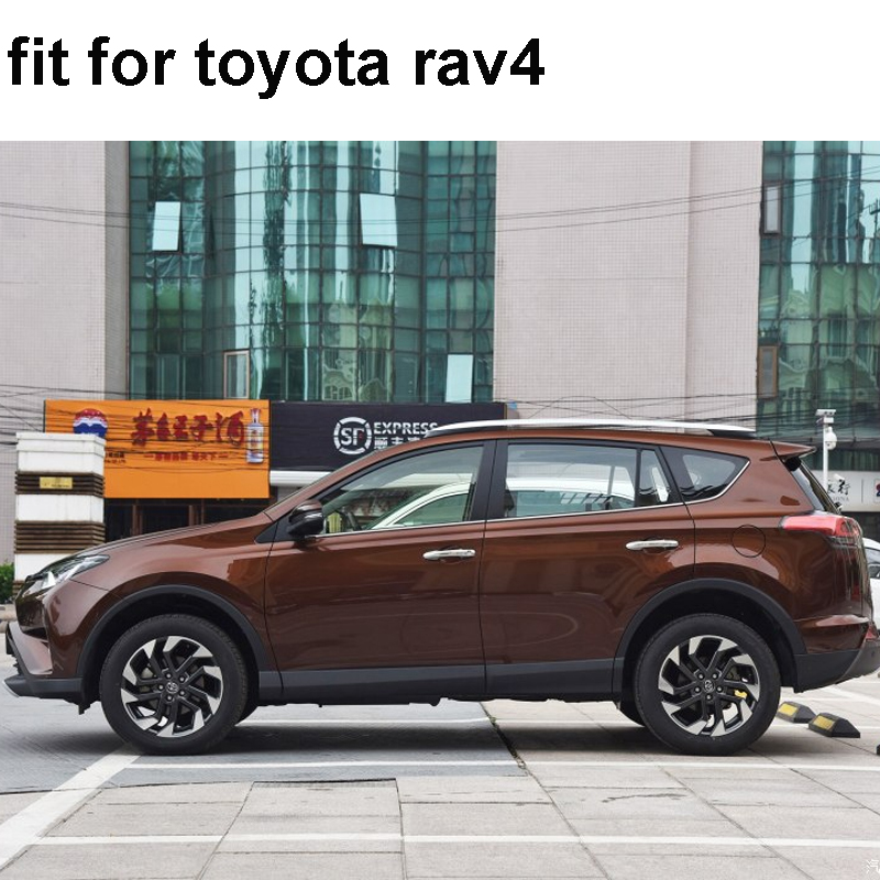 car stickers 2PC side door 4x4 off road graphic vinyls protect accessories modified decals custom For toyota rav4 in Car Stickers from Automobiles Motorcycles
