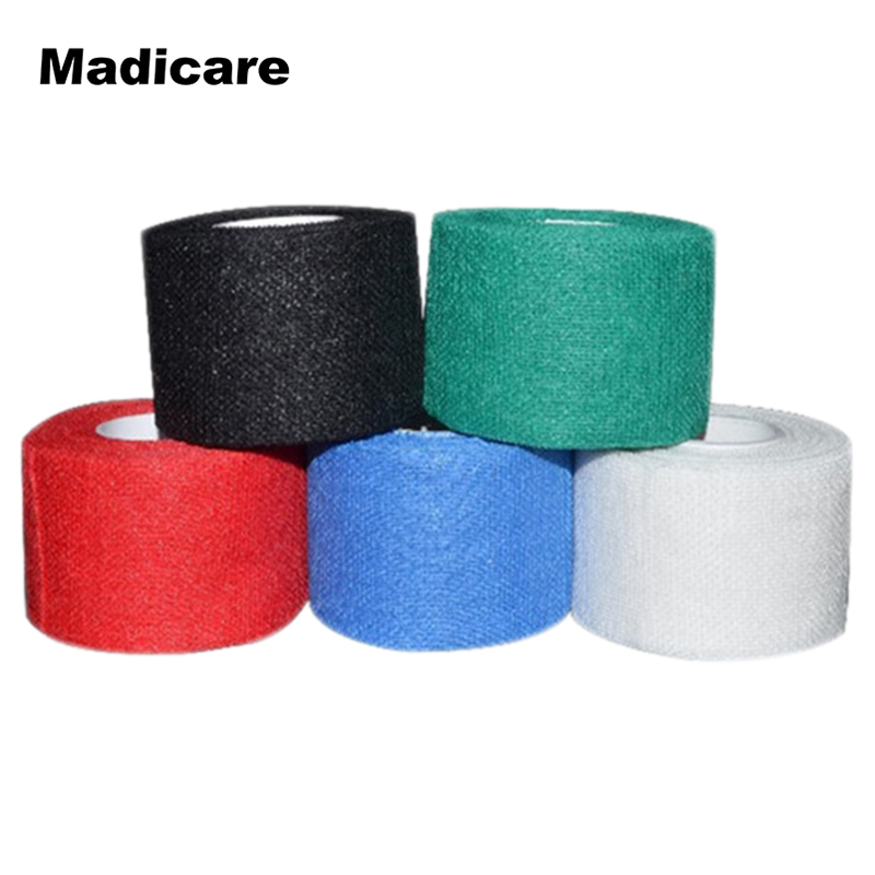 цена на 4 rolls Gauze Golf Tape  G-tape Ice Hockey Grip Tape Good Grip Hockey Goves Prevent Ice Hockey Tape