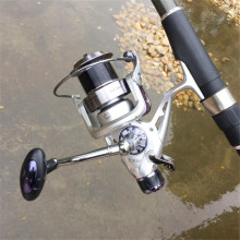 Saltwater  Spinning Fishing Reel Gear Can Be Used in Fresh Water Speed Ratio 5.2:1