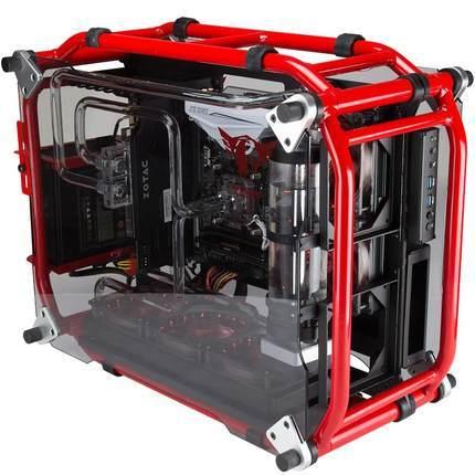 ATX Gaming Computer PC Case Desktop desk box case gamer Vertical enclosure 1