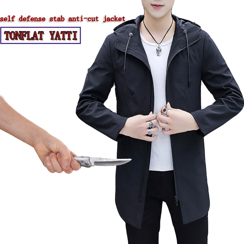 Security & Protection Self Defense Supplies Anti-Cut Anti-corte Anti-stab Clothing Stealth Fashion Casual Clothing Safety 2020