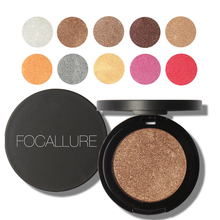 FOCALLURE Eyeshadow Makeup Matte Eye Shadow Palette Professional Single Color Makeup Glitter Eyeshadow Powder M03166