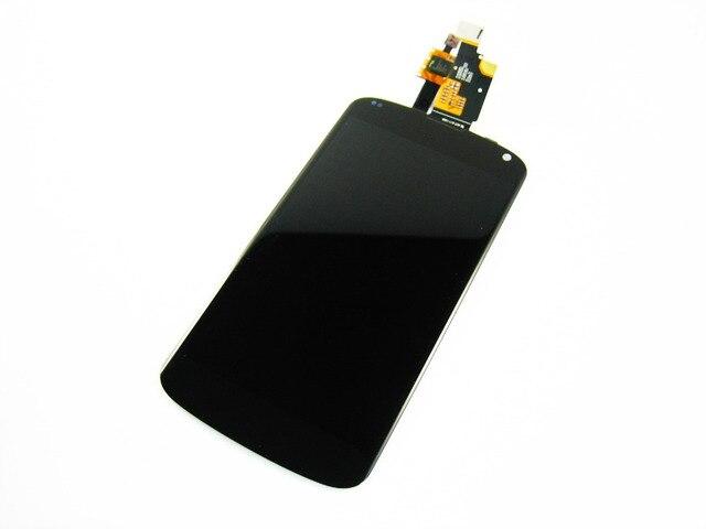 Замена Полный ЖК-Дисплей + Сенсорный Экран Digitizer для Lg Google Nexus 4/E960