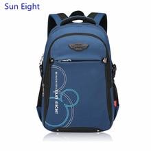 Sun Eight dark blue boy bag children school bags for boys school backpack girl schoolbag student bag backpacks for teenage girls