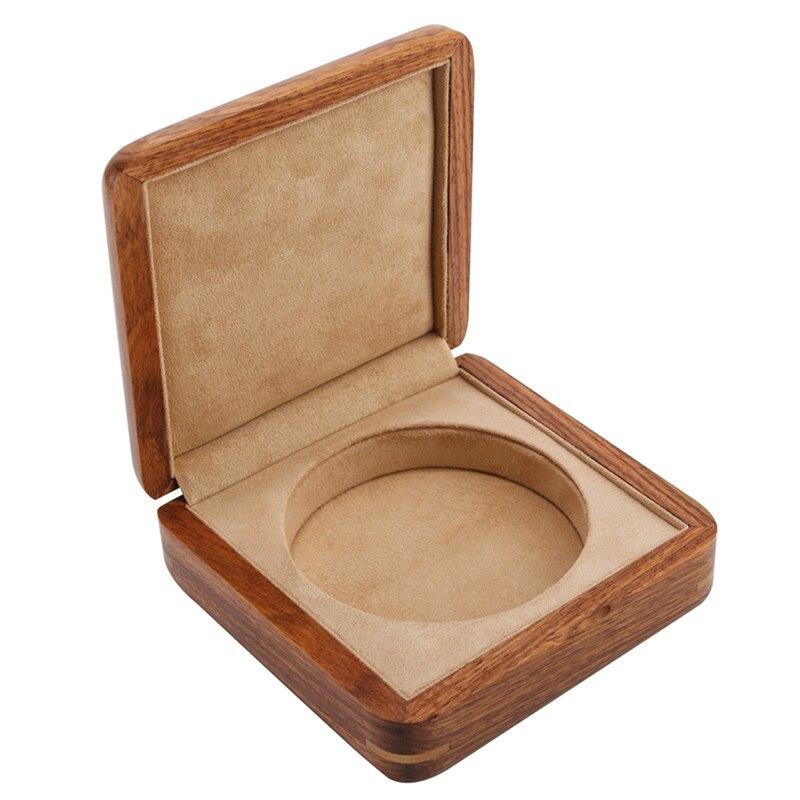 Voyage bois en bois bijoux caisse d'emballage Portable mariage Bracelet support organisateur femmes hommes présentoir cadeau pour les couples
