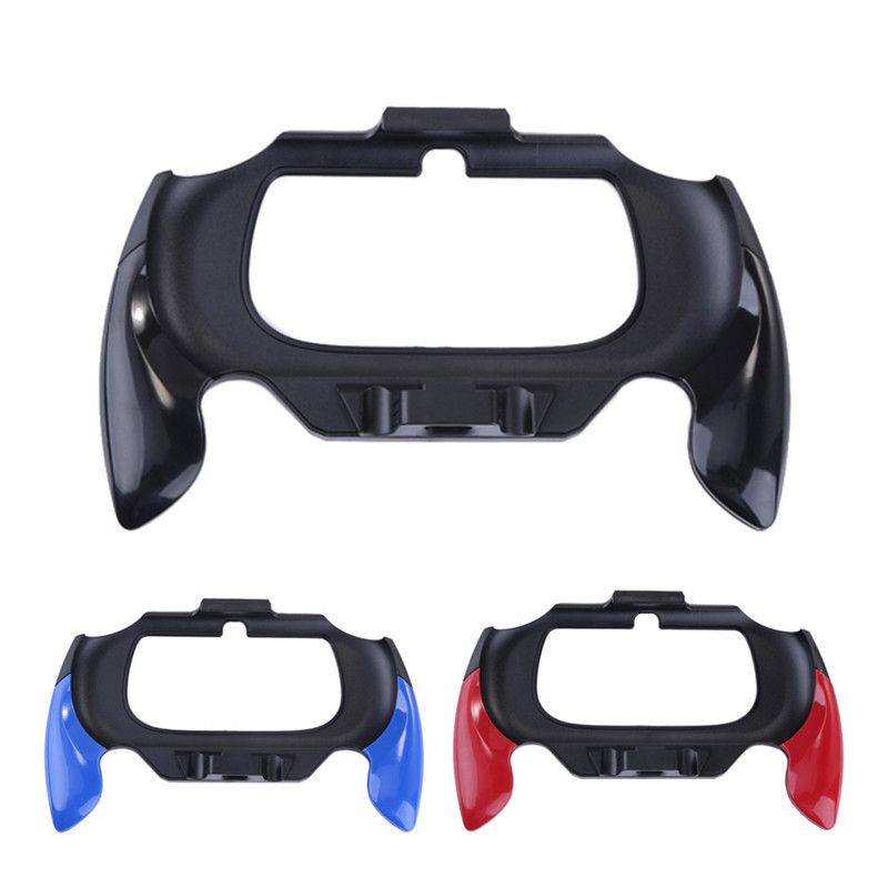 Soporte de plástico para PS Vita Grip Handle Holder Holder para Sony PSV PS Vita Game Accessories 2000 Controlador de manos libres protector