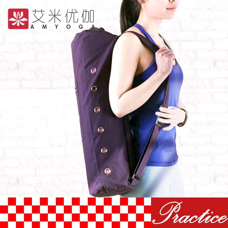 High Quality Canvas Yoga Mat Bag Free Shipping-in Gym Bags