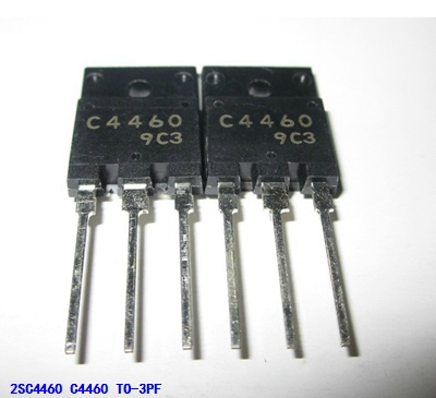 10pcs/lot 2SC4460 C4460 TO-3PF In Stock