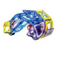 70 шт. творческий магнитный конструктор 3д образовательных моделей трафика полета самолета Сделай сам строительные блоки кирпичи игрушки малыш игрушки подарки
