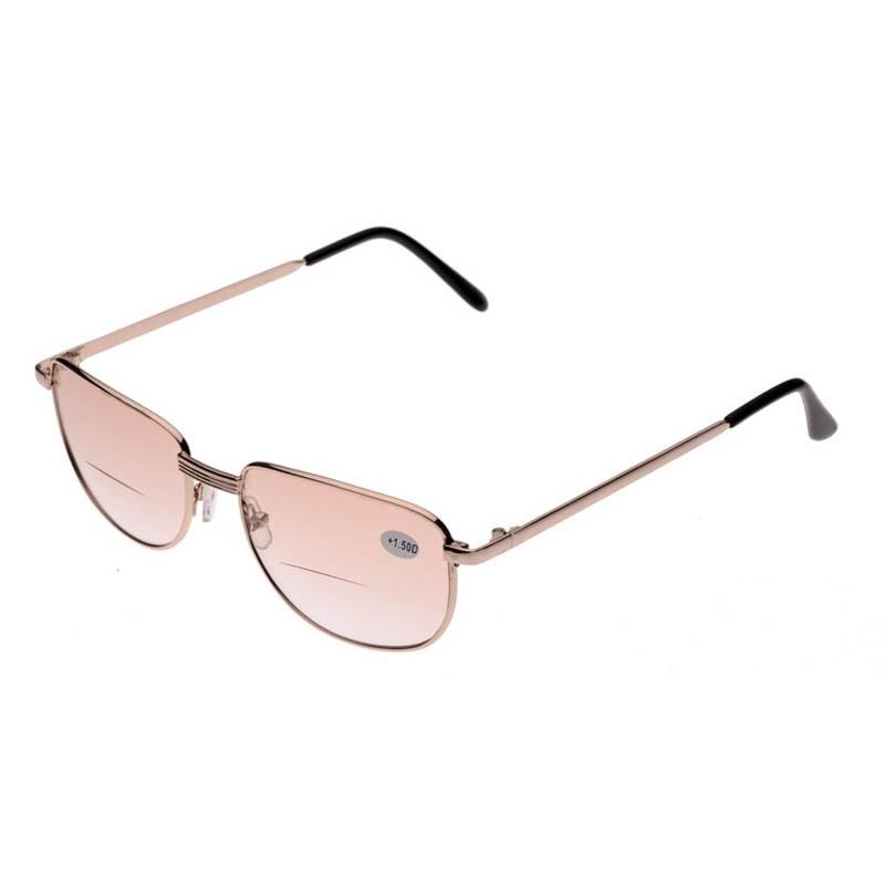 Women s Large Frame Reading Glasses : Big Sale Full Metal Frame Reading Glasses Men Women Multi ...
