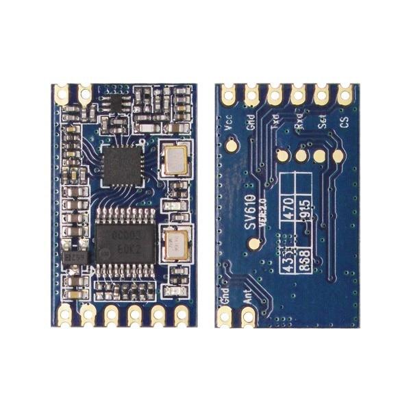 Zestaw modułu RF nadajnika i odbiornika (SV610 + SU108-TTL + - Sprzęt komunikacyjny - Zdjęcie 3