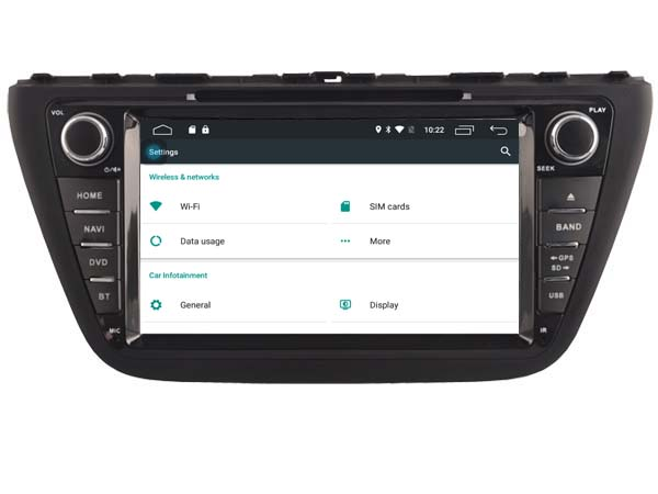 Android 6.0 CAR Audio DVD player FOR SUZUKI S-CROSS 2013-2015 gps car Multimedia head device unit receiver support 4G BT WIFI