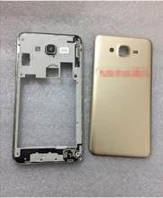 TAPA trasera de la batería para Samsung Galaxy J7 J5 J2 J3, Original, 10 unidades