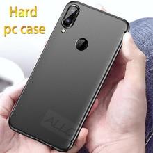 Sert telefon kılıfı Için Xiaomi Redmi Not 5 7 pro Not 4X4 Case Mat Plastik PC Koruyucu Kapak redmi Not 7 pro Arka Tam Durumda
