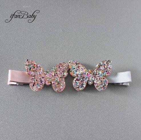 Девушка заколки, цветок клипы. милые детские аксессуары для волос pin - Цвет: 06