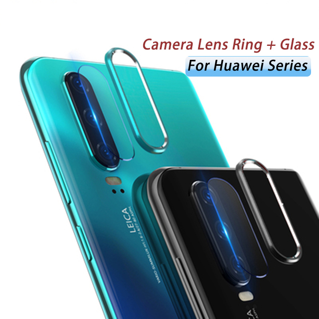 Camera Protector Glass For Huawei P20 Pro P30 Lite For Honor 20 20i Tempered Glass Metal