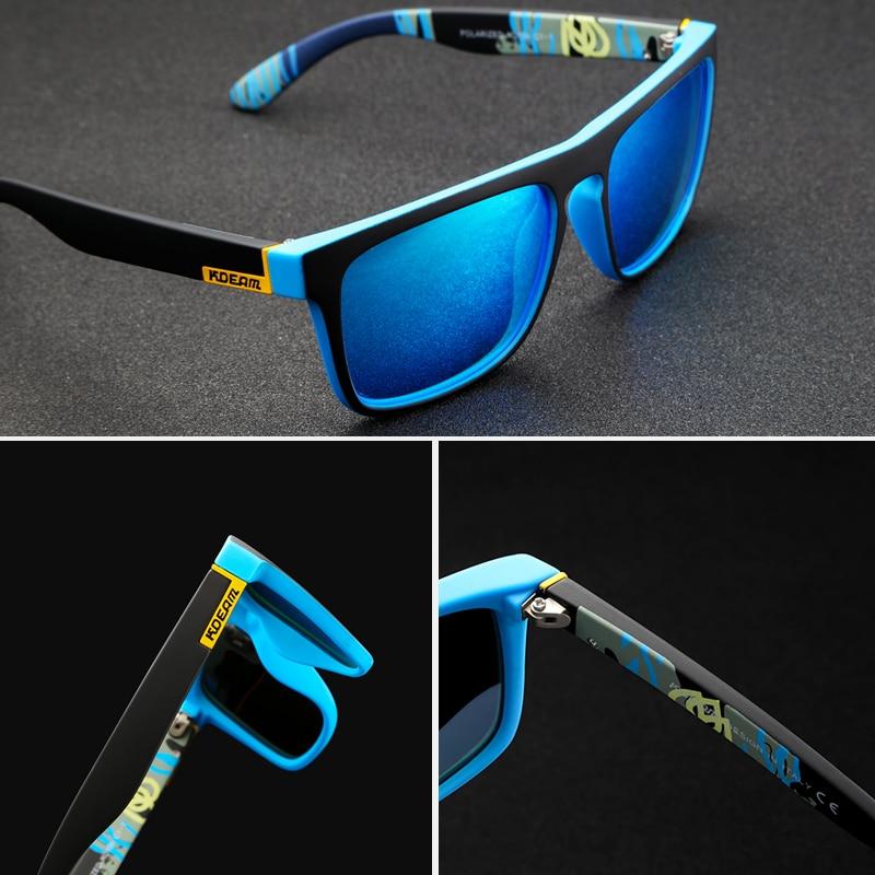 Le Jeune moderne.Lunettes-Lunettes de soleil UV400 fashion KDEAM polarisées-Protégez vous cette été du soleil avec ces lunettes de chez KDEAM. Detrès nombreuses couleurs pour les associer avec vos tenues préférées. Soyez jeune et moderne sur la plage en toute circonstances.