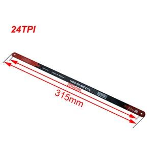 Image 4 - 4 pc 24tpi viu lâminas superflex HSS BI METAL 12mm * 300mm de alta qualidade m2 & crv6150 matrial para ferramentas manuais serra