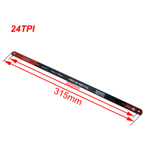 Image 4 - 4PC 24TPI Sägeblätter Superflex HSS BI METAL 12mm * 300mm Hohe Qualität M2 & CRV6150 Matrial für Hacksaw hand Werkzeuge