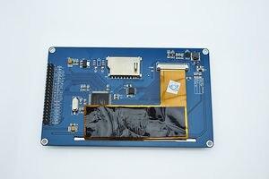 """Image 4 - 新しい1ピース5 """"インチtft液晶ディスプレイモジュール800 × 480 +タッチスクリーン用arduinoのuno r3原因"""