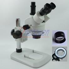 Fyscope 3.5x-45x Столп Сектор База Тринокулярный стереомикроскоп szm0.5x