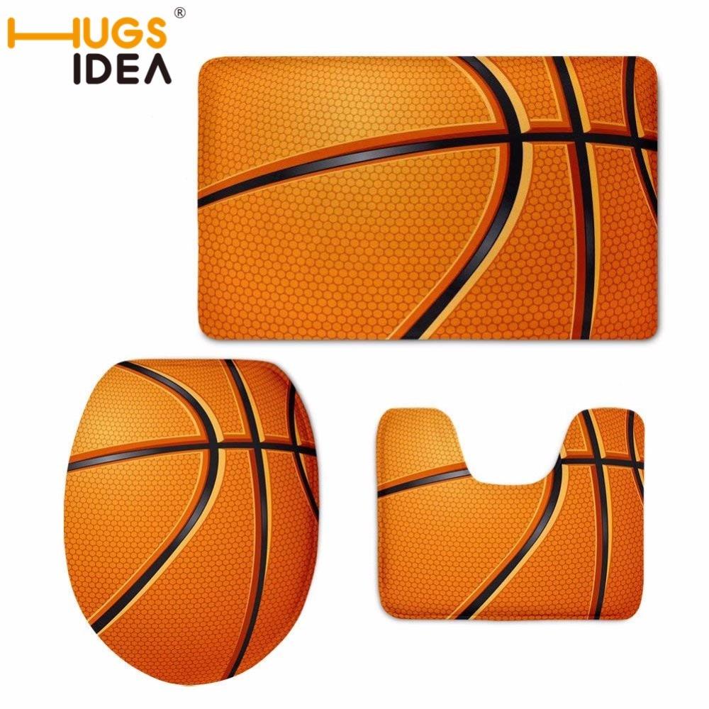 Basketball Rug Target: Aliexpress.com : Buy HUGSIDEA Toilet Floor Mats Basketball