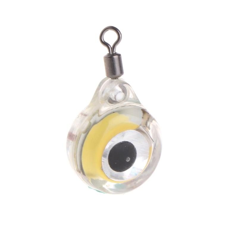 Fishing Light Underwater Deep Drop Strobe Multi Color Eye Lure Bright Waterproof #20/1