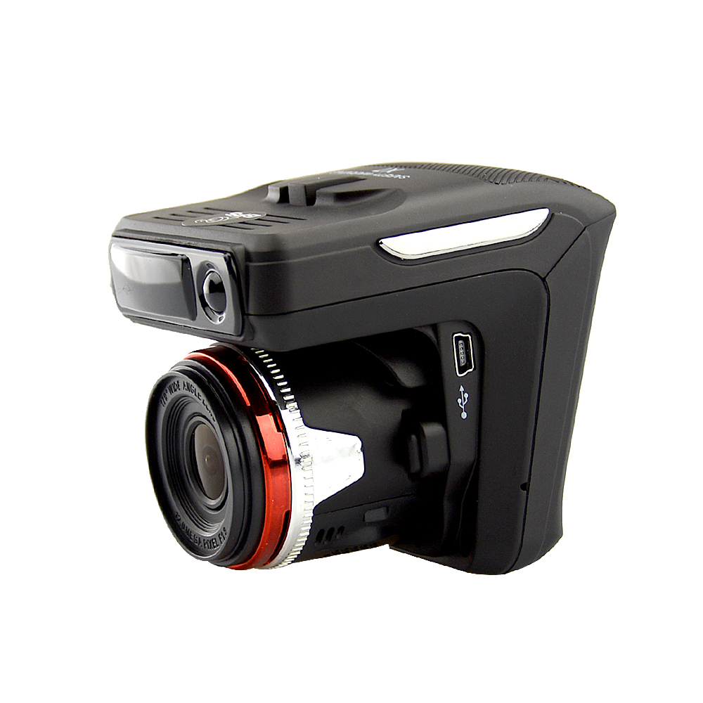 OkeyTech Autozubehör Besten 3 in 1 Auto Anti radar detektor + DVR + GPS Recorder Laser Nachtsicht Sensor Fixed/Strömungsgeschwindigkeit - 4