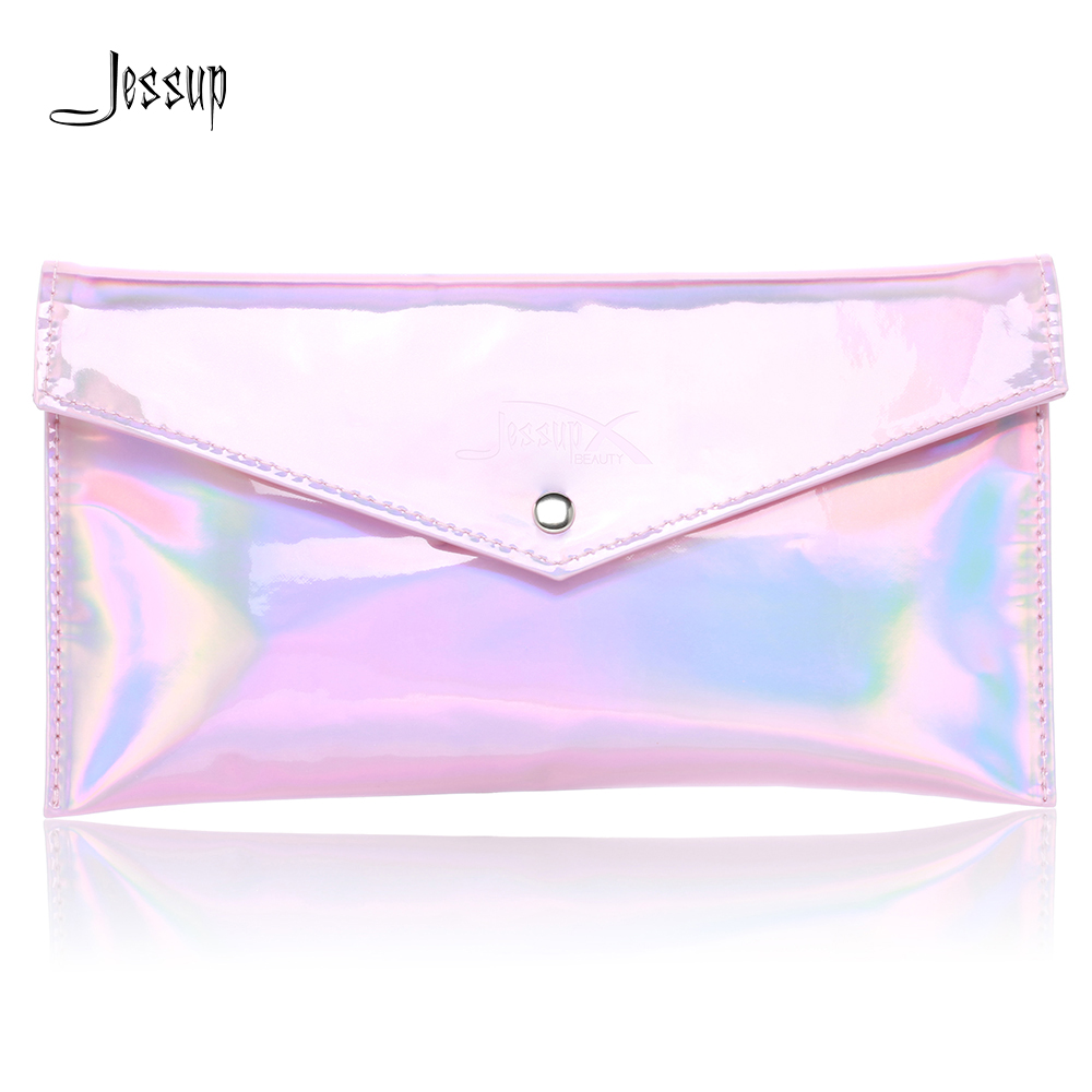 Jessup Brushes Bag Pink Cosmetics Bag Makeup accessories Wom