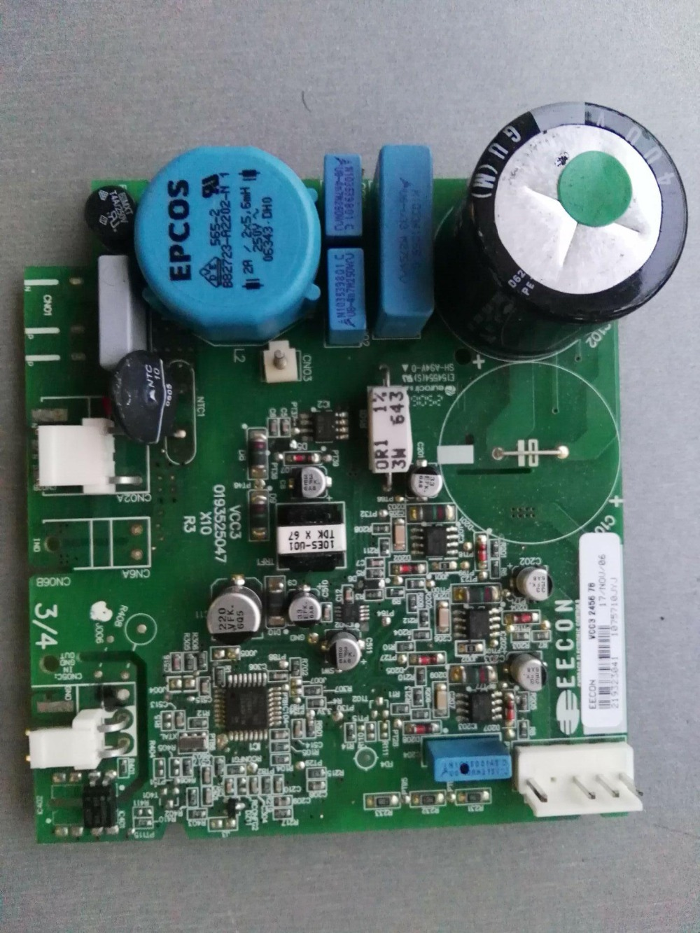 VCC3 0193525047 Refrigerator Board Tested
