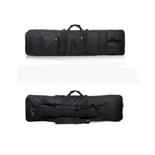 47 cal 120 CM SWAT podwójny Tactical Heavy Duty torba duża pojemność torba futerał dla karabin pistolet czarny hurtownie