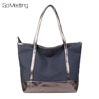 Go Meetting Waterproof Oxford Women Handbag Famous Designer Brand Ladies Bags Woman Totes Vintage Large Capacity