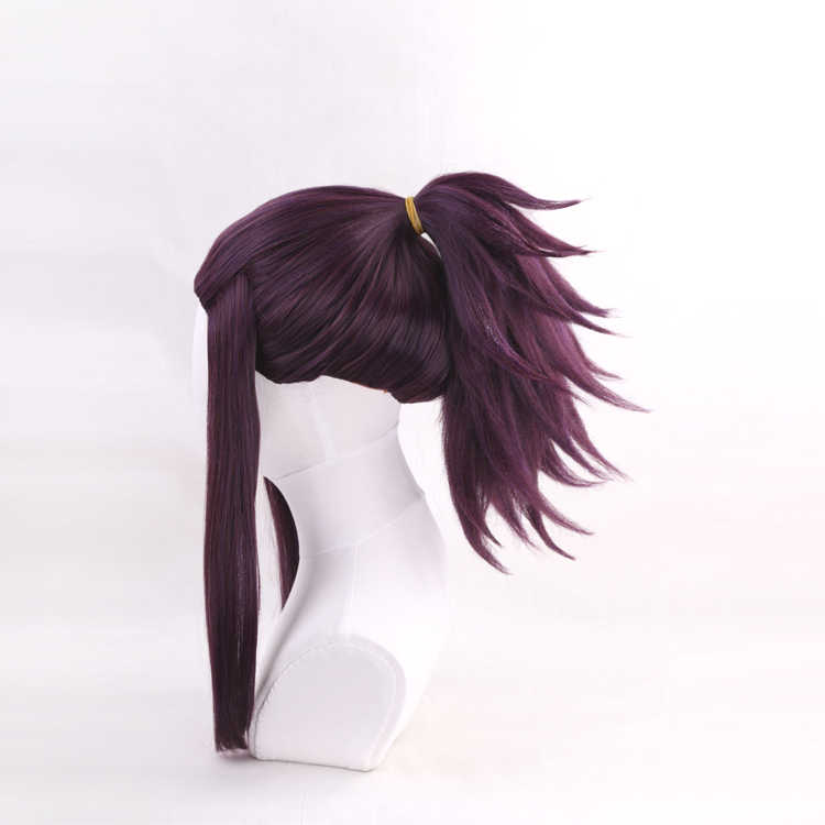 Персонаж игры LOL/League of Legends K/DA Akali Косплей парики KDA синтетический Аниме Косплей волос + один колпачок