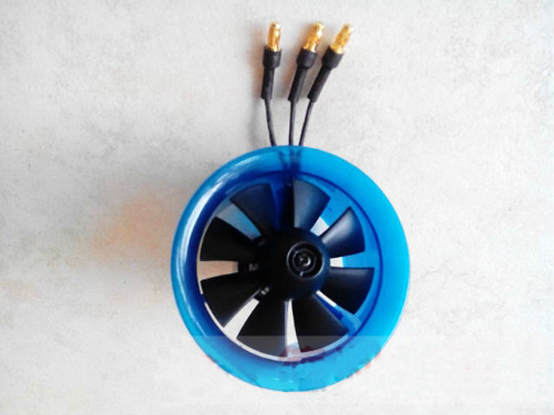 RC Model 65mm 55mm 40mm 30mm AEO 8 Blade Ducted Fan EDF Power System With KV13000