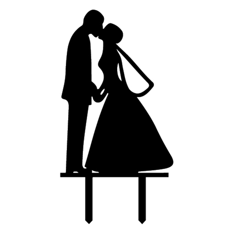 Hochzeit Novia Novio Boda Decoraci/ón de Pasteles III